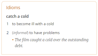 catch-a-cold