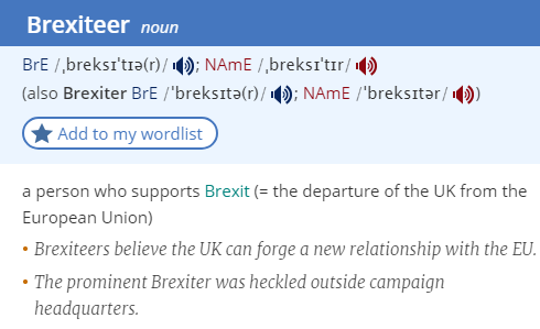 brexiteer-definition