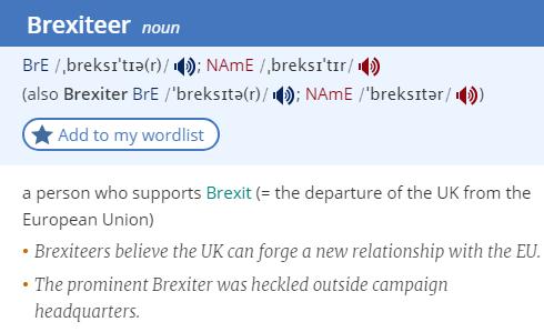 brexiteer-definition