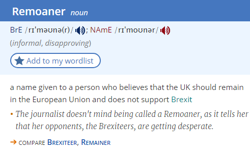 remoaner-definition